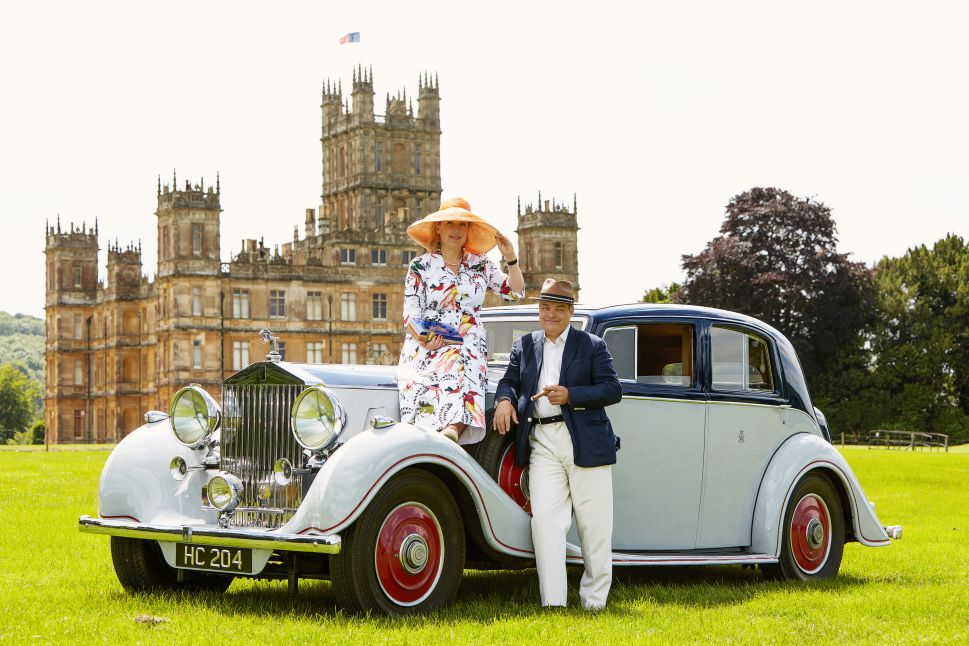 Meet the Real Owners of 'Downton Abbey,' Highclere Castle's Lord and Lady Carnarvon