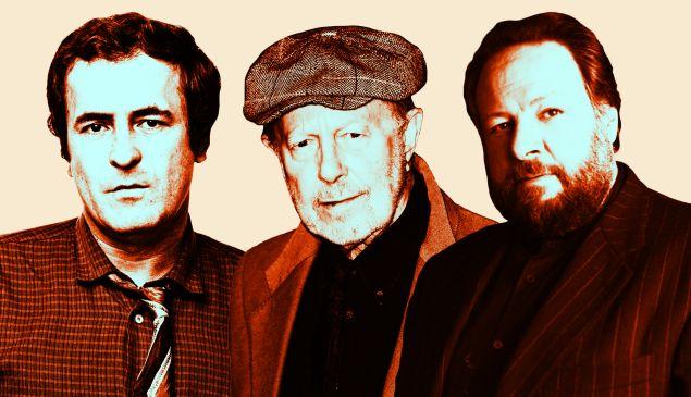 Bernardo Bertolucci, Nicolas Roeg and Ricky Jay.