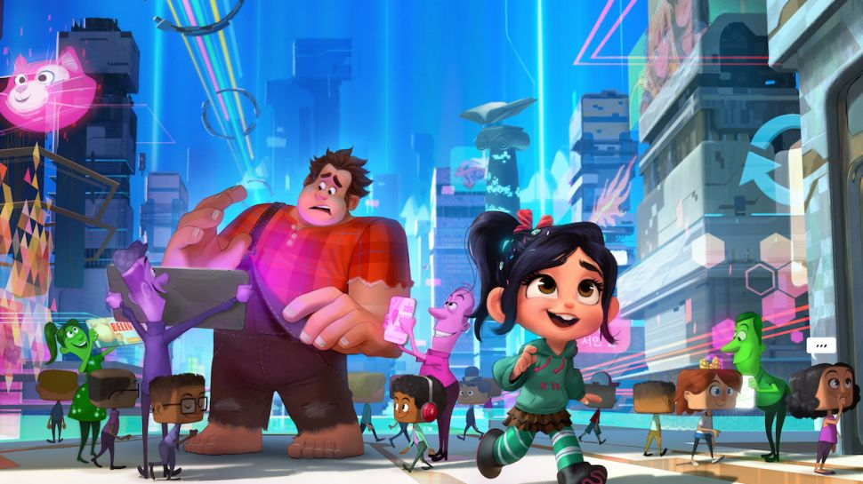 The Dizzying Digital Wonderland in 'Ralph Breaks the Internet' Will Give You Whiplash