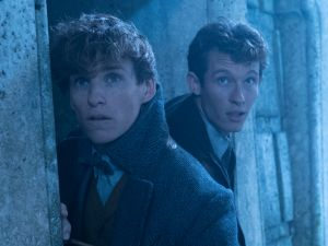 Eddie Redmayne and Callum Turner in Fantastic Beasts: The Crimes of Grindelwald.