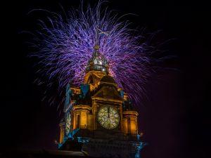 The Balmoral Hogmanay Fireworks