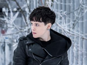 Claire Foy in The Girl in the Spider's Web.