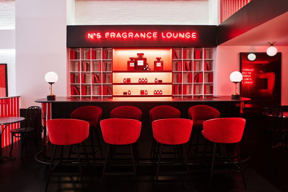 Chanel's New Le Rouge Pop-Up Has a $30,000 Perfume