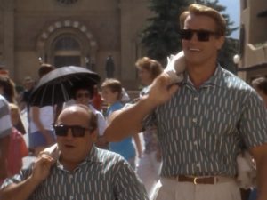 Arno Schwarzenegger twins sequel triplets eddie murphy
