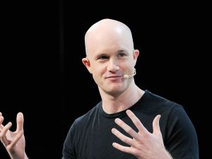 Brian Armstrong, cofounder and CEO of Coinbase.