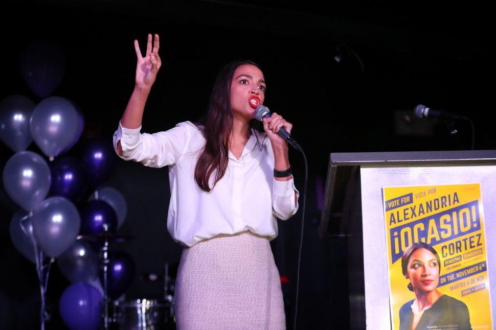 Alexandria Ocasio-Cortez Channels Trump to Discredit Politico's 'Junk Articles'