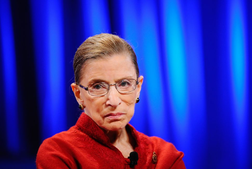 Why Ruth Bader Ginsburg's Cancer Scare Shouldn't Stop Her From Hearing Supreme Court Cases