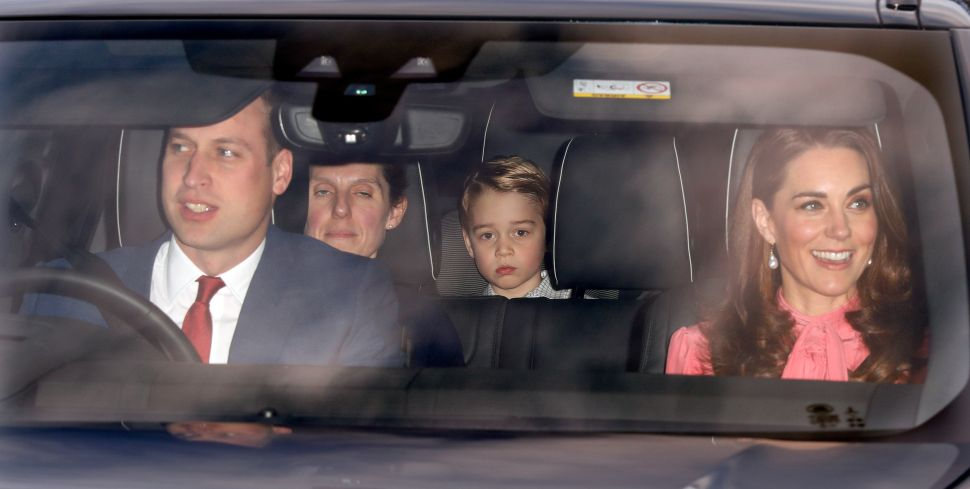 William, Kate, Harry and Meghan Reunited for Gingerbread and Gin at Buckingham Palace