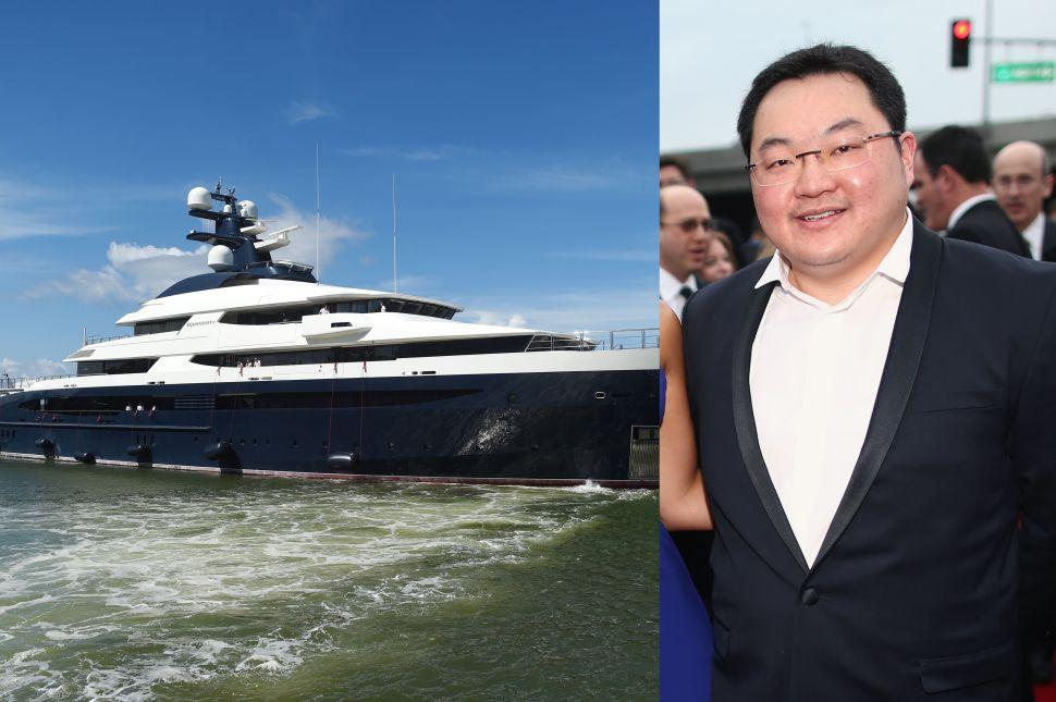 Miranda Kerr's Ex, Billionaire Fugitive Jho Low's $250 Million Yacht Is on Sale