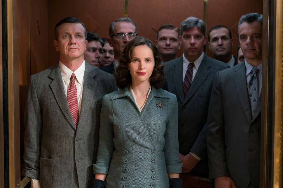 Despite the Role's Lack of Range, Felicity Jones' Ruth Bader Ginsburg Grows on You