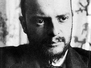 Paul_Klee photographed in 1911 by Alexander Eliasberg.