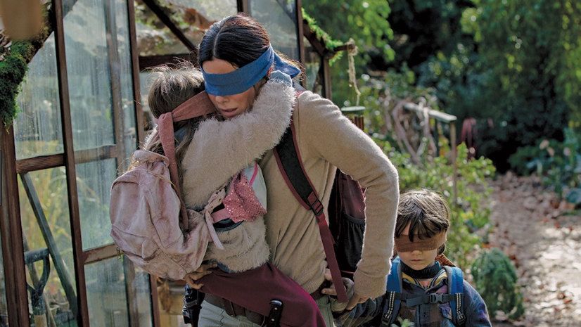 In 'Bird Box,' Sandra Bullock Is on Temporary Leave From Hit Movies (and Her Senses)