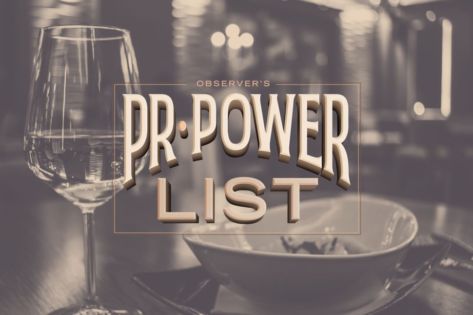 The Most Powerful Restaurant PR Firms of 2018