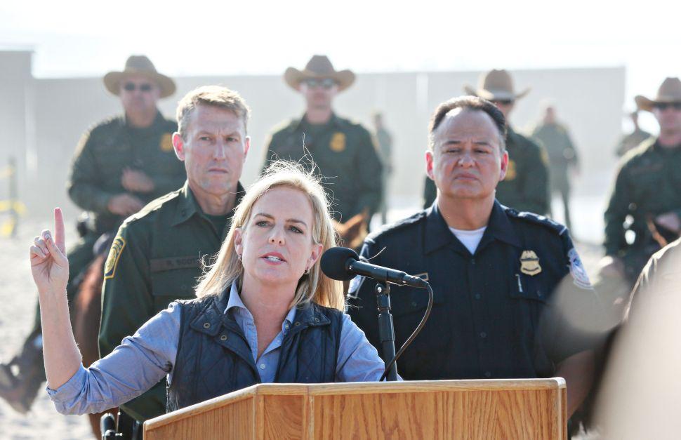 How the Migrant Caravan & a Facebook Post Saved DHS Secretary Kirstjen Nielsen's Job