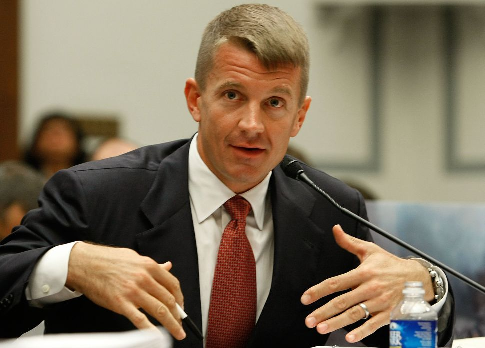 Paramilitary Emperor Erik Prince Rebrands Blackwater to Get Into the Steak Business