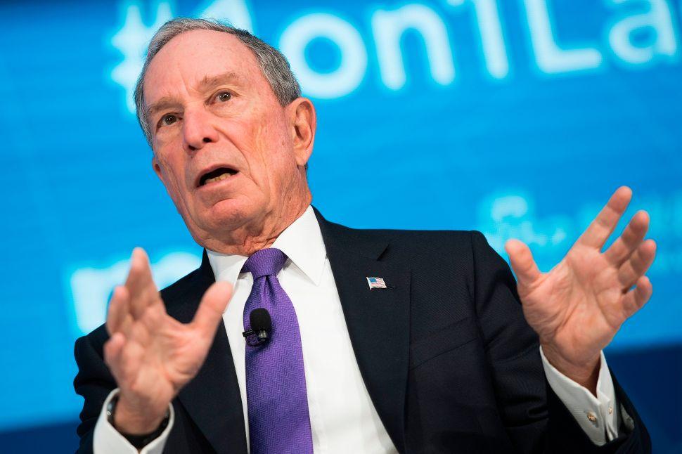 Michael Bloomberg's Presidential Run Faces First Amendment Litmus Test