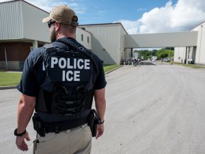 U.S. Immigration and Customs Enforcement (ICE) special agent.