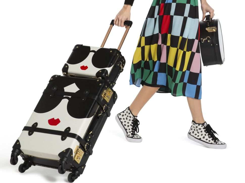 Alice + Olivia and SteamLine's New Luggage Collab Is a Vintage Lover's Dream