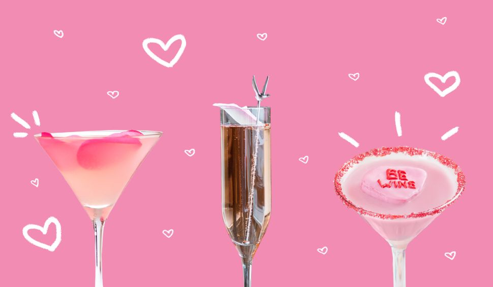 10 Enticing Valentine's Day Cocktail Recipes to Suit the State of Anyone's Love Life