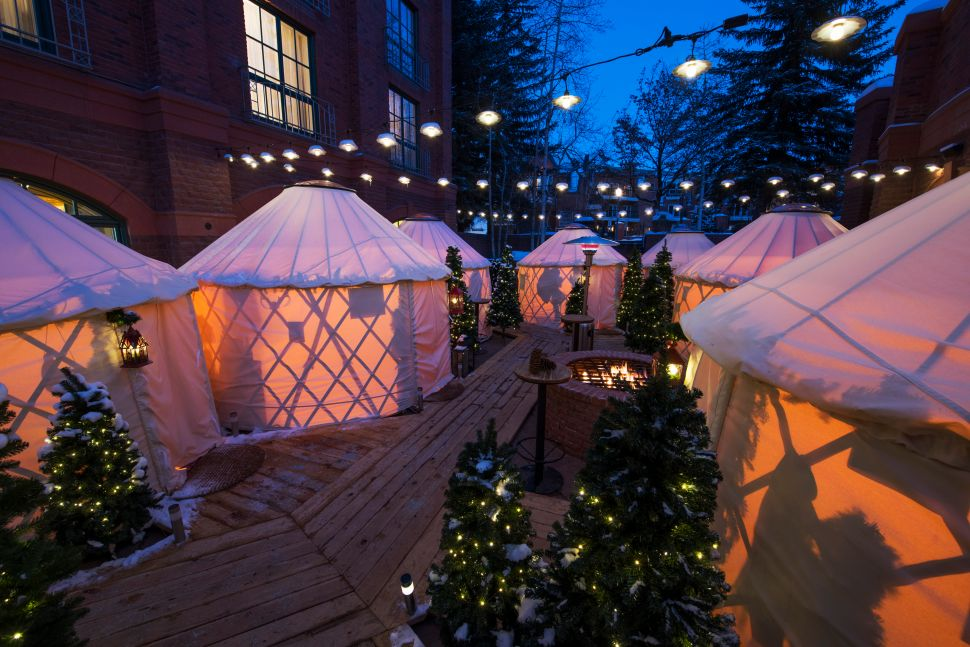 Shake Shack Will Take Over the Yurt Village at Eleven Madison Park's Aspen Pop-Up