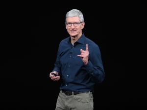 Tim Cook Apple Streaming
