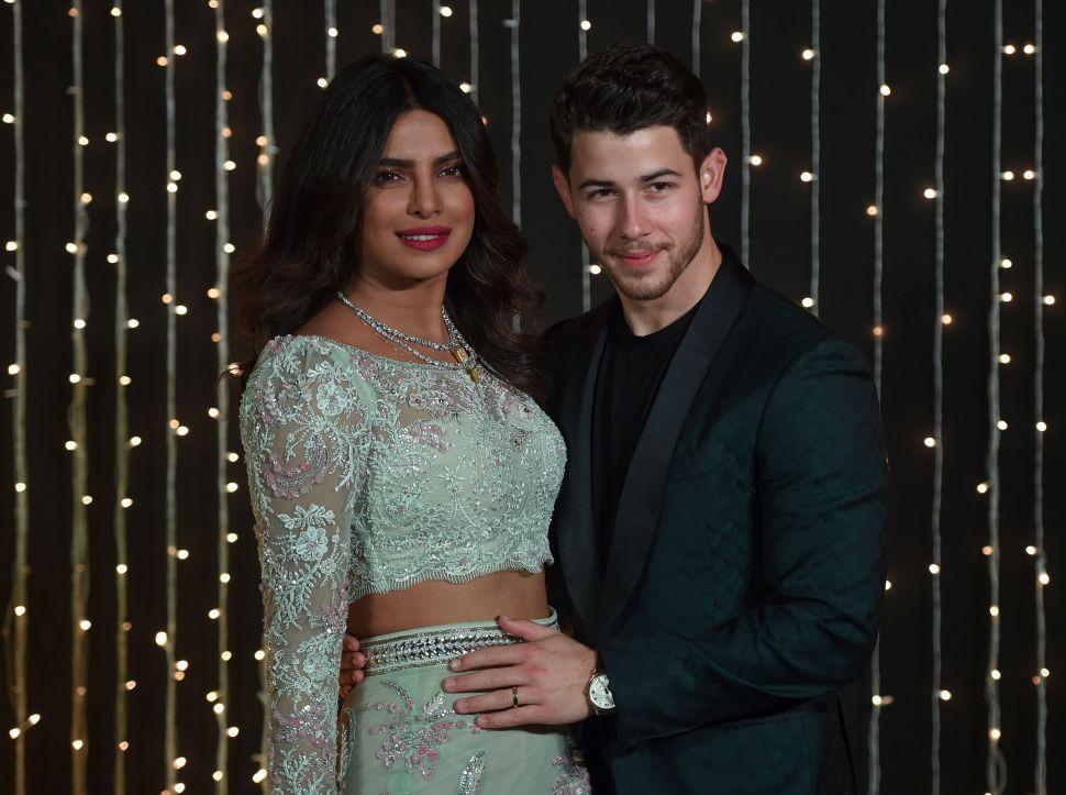 Priyanka Chopra and Nick Jonas Will Not Stop Celebrating Their Nuptials