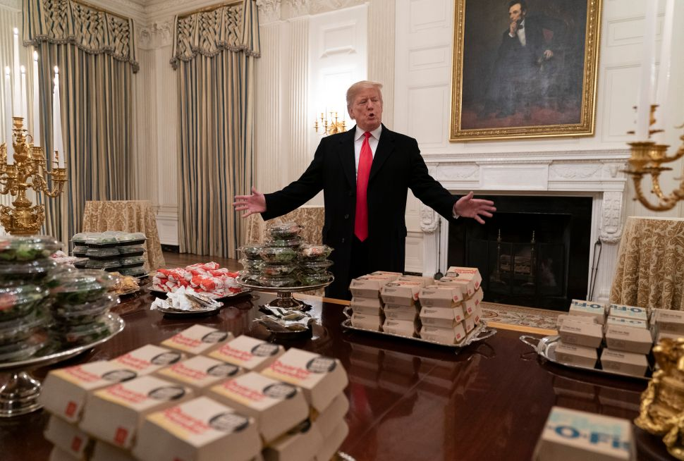 White House Chefs Have Stopped Showing Up to Work Because of the Government Shutdown