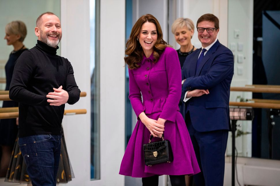 Kate Middleton Was the Perfect Purple Ballerina at the Royal Opera House