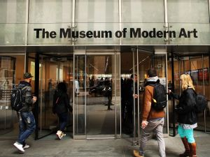 The Museum of Modern Art in New York City.