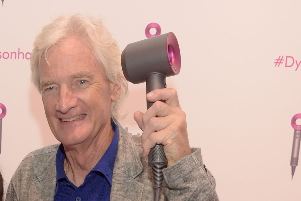 Dyson Curling Iron Hype Has Made Its Inventor the Richest Man in the UK