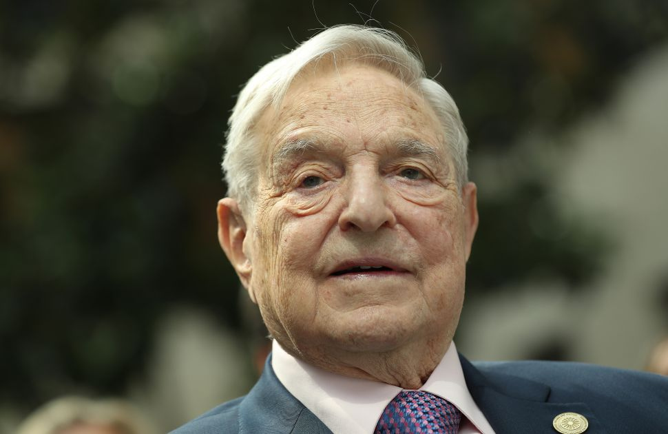 George Soros Warns About China's Black Mirror-esque 'Social Credit System' at Davos