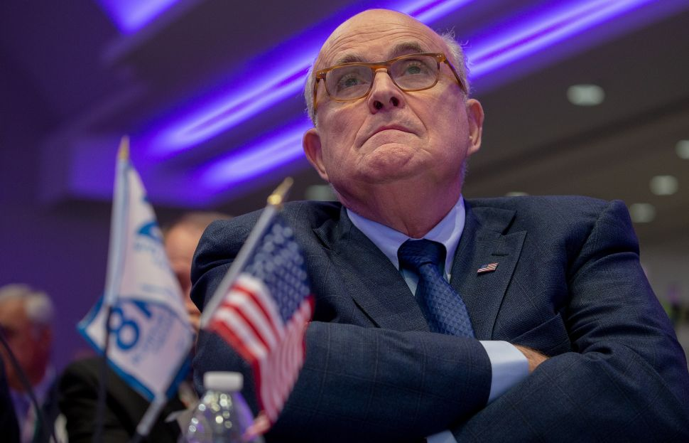Rudy Giuliani Is 'Absolutely' Worried His Legacy Will Be Lying for Trump