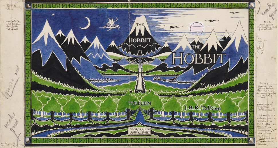 J.R.R. Tolkien's Detailed Drawings Reveal Middle-Earth Exactly as He Imagined It