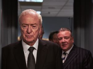 Michael Caine in King of Thieves.