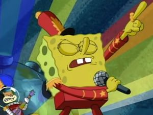 Super Bowl Half Time Show Maroon 5 SpongeBob SquarePants