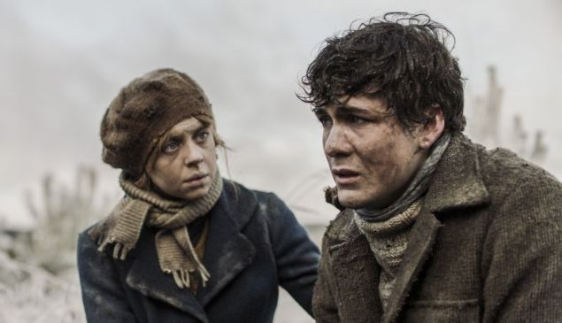 Bel Powley and Jonah Hauer-King in Ashes in the Snow
