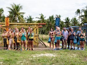The Kama and Mana Tribes on the premiere of CBS' 'Survivor: Edge of Extinction.'