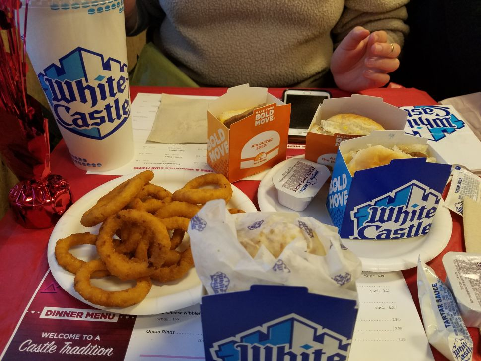 I Took My Girlfriend to White Castle for Valentine's Day