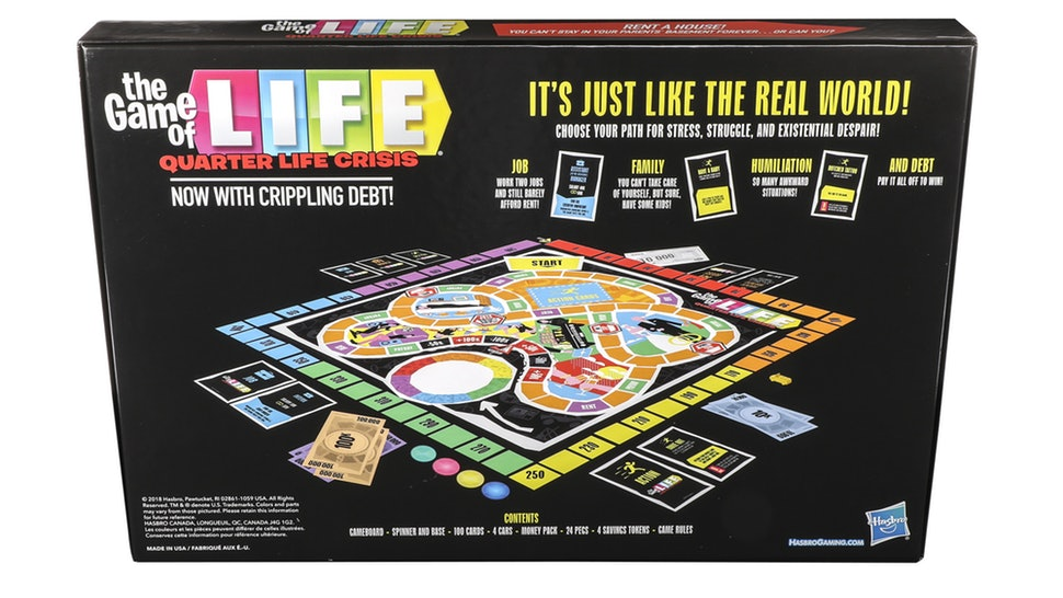 We Played The Game of Life's Updated Version That Mimics Broke Millennial Living