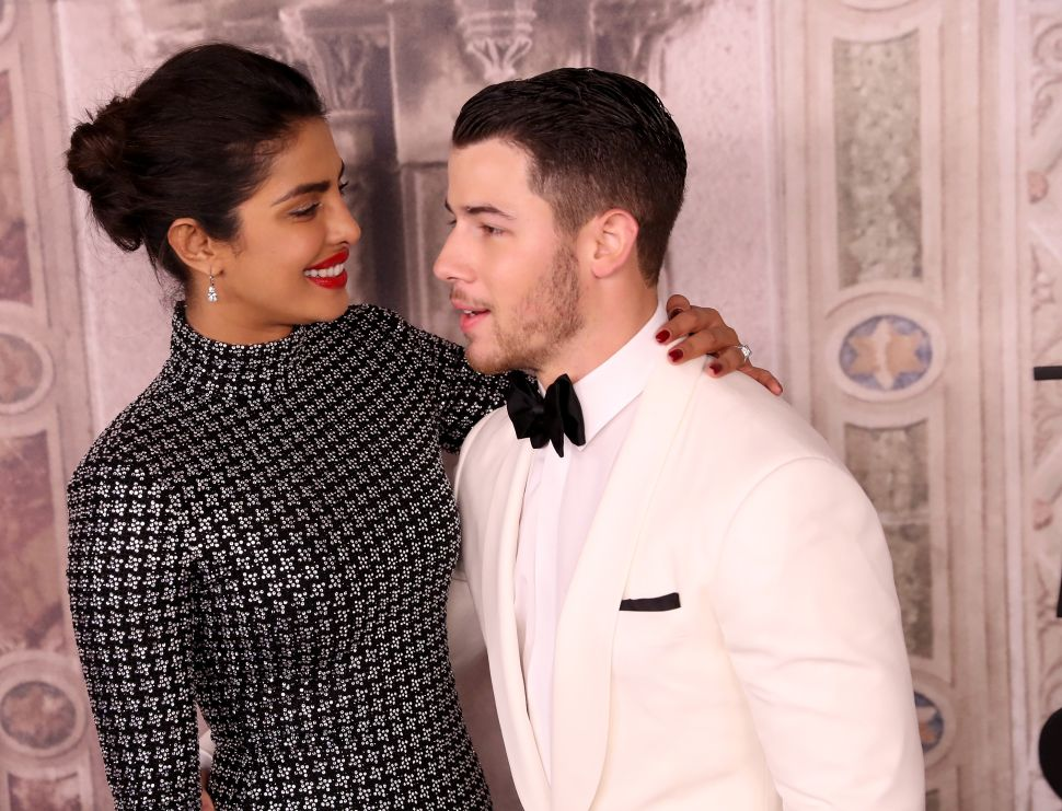 Priyanka Chopra and Nick Jonas Took Another Trip, but This Time They Made a Beer Tower