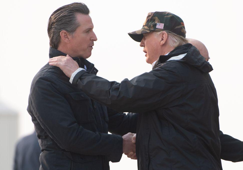 California Governor Gavin Newsom Calls Trump's Border Emergency 'Political Theater'