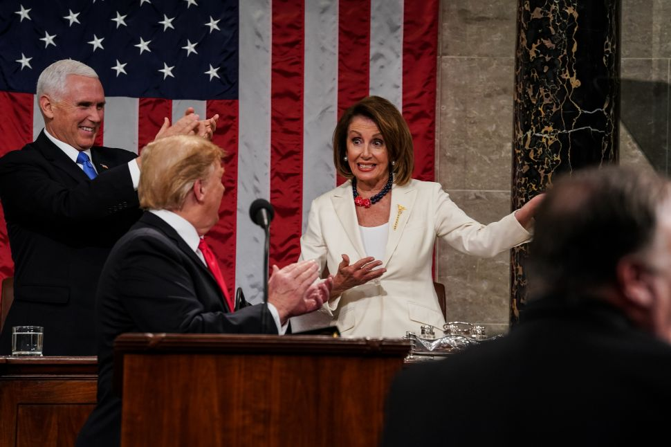 As Trump Looks for 'Land Mines' in Border Deal, Pelosi Says Dems Are 'in a Good Place'