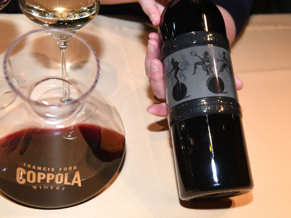 The Story Behind Francis Ford Coppola's Exclusive Oscars Wine