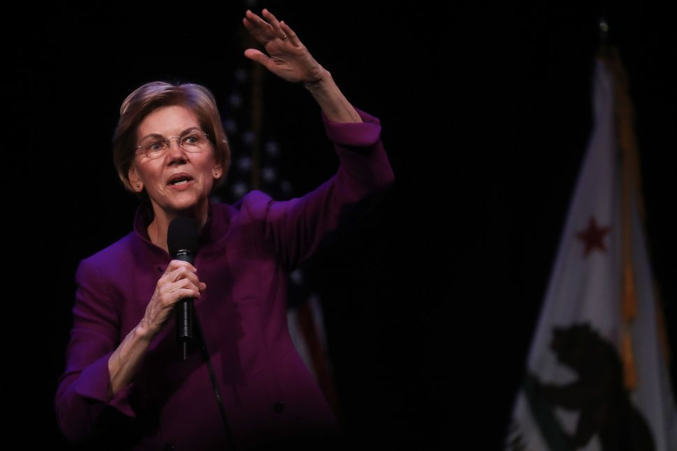 Elizabeth Warren Calls to Eliminate Private Insurance Plans, Backs Medicare for All