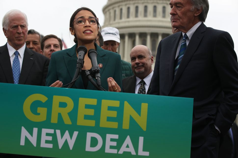 What Does Gavin Newsom's Killing of High-Speed Rail Mean for AOC's Green New Deal?