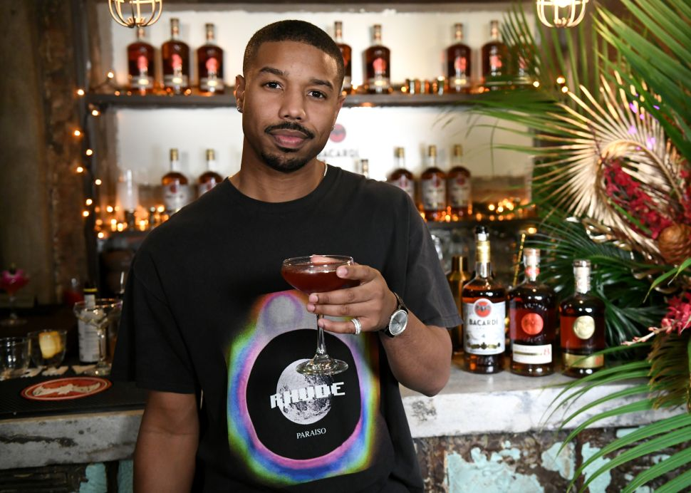 Michael B. Jordan Makes a VERY Good Rum Cocktail (And He Gave Us the Recipe)