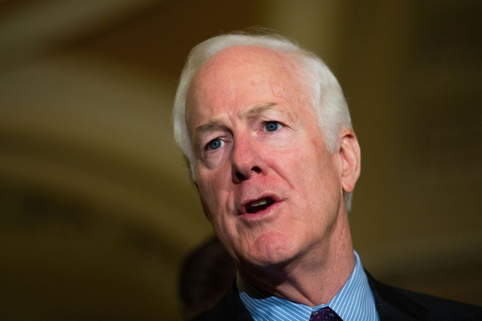 Forgive John Cornyn: Quoting Mussolini to Own the Libs Is Just What the Right Does