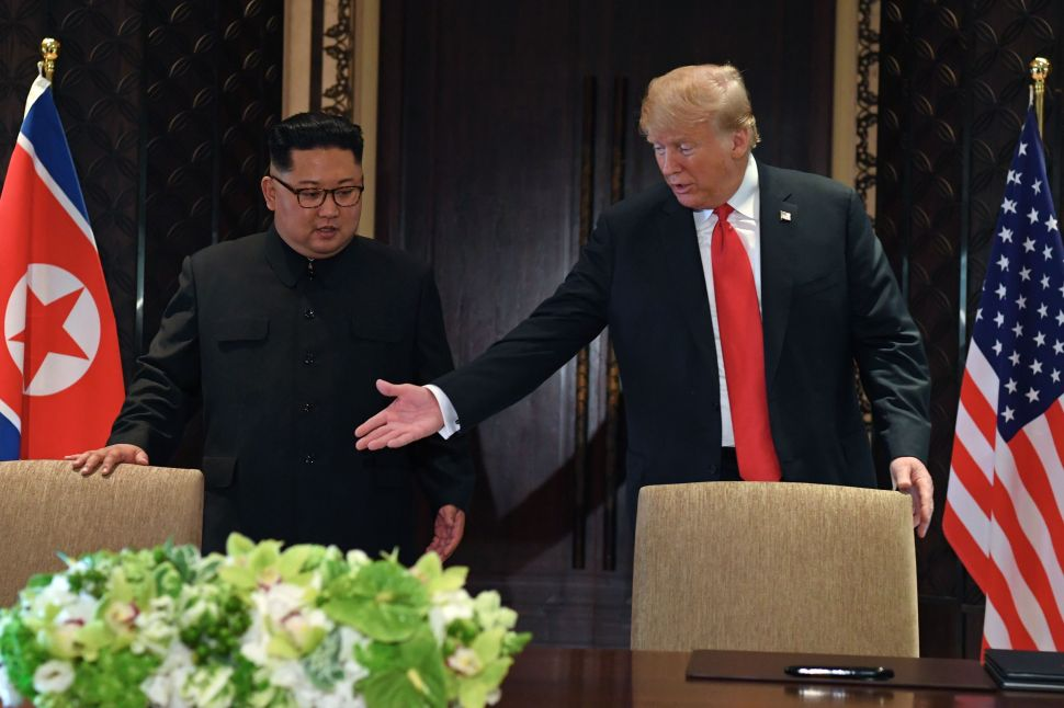 As Trump Brags About Uniting Korea, His Aides Sound the Alarm Over Denuclearization