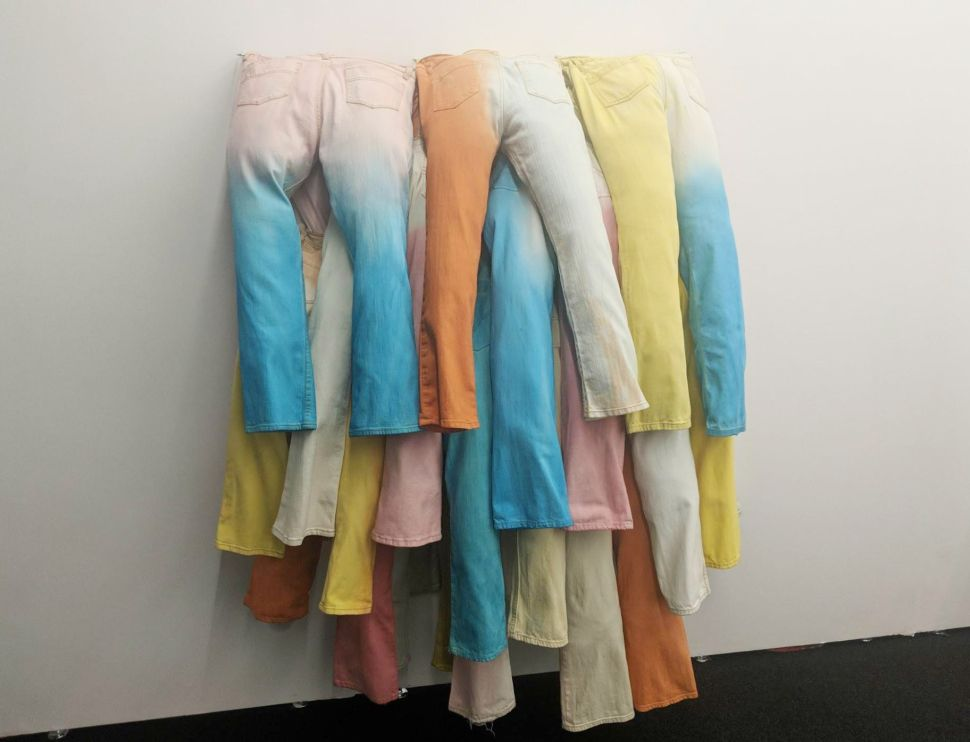 Material Art Fair Charms the Pants Off Buyers With a Tactile Trend