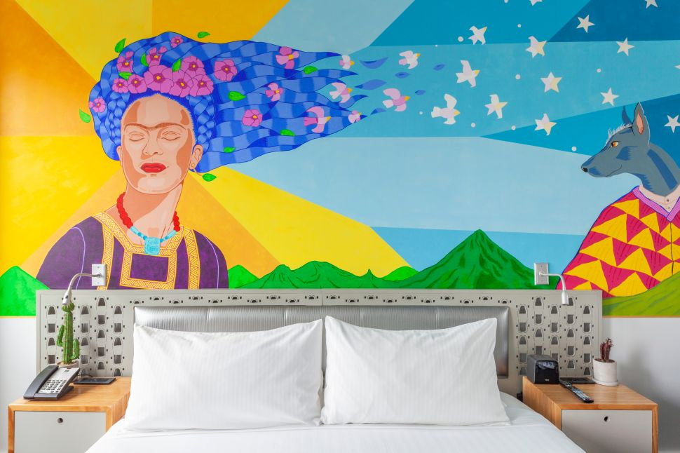 Brooklyn's Nu Hotel Has a Frida Kahlo Suite, and It's Truly Surreal